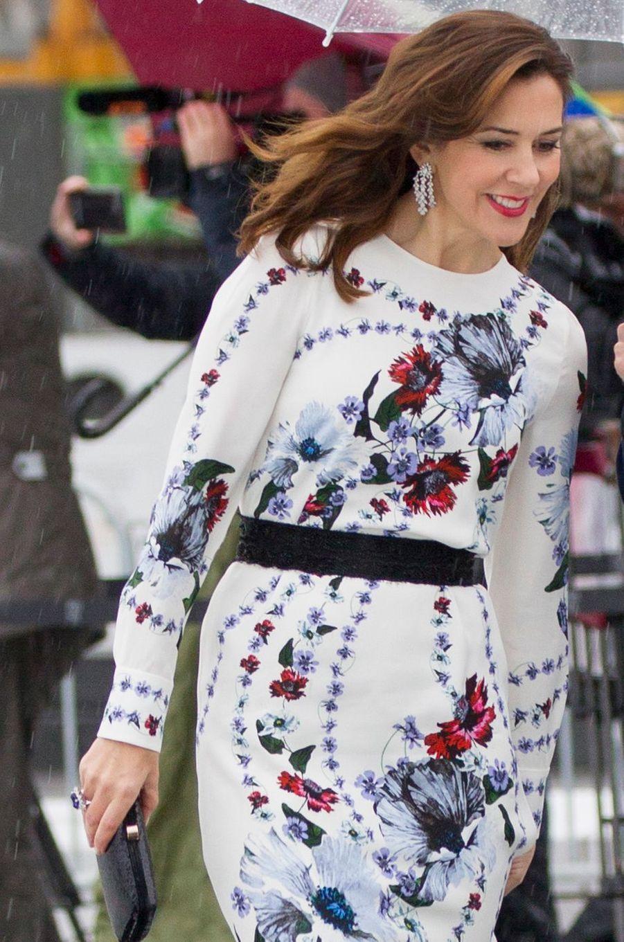 La princesse Mary de Danemark à Oslo le 10 mai 2017