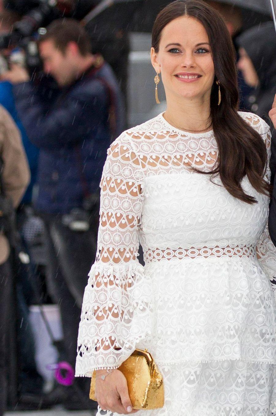 La princesse Sofia de Suède à Oslo le 10 mai 2017