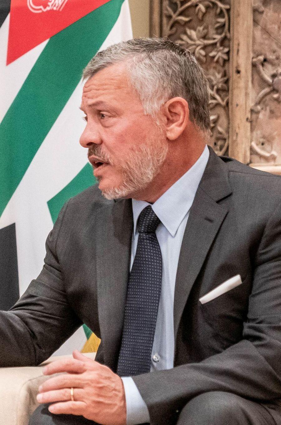 Le roi Abdallah II de Jordanie, le 19 août 2019