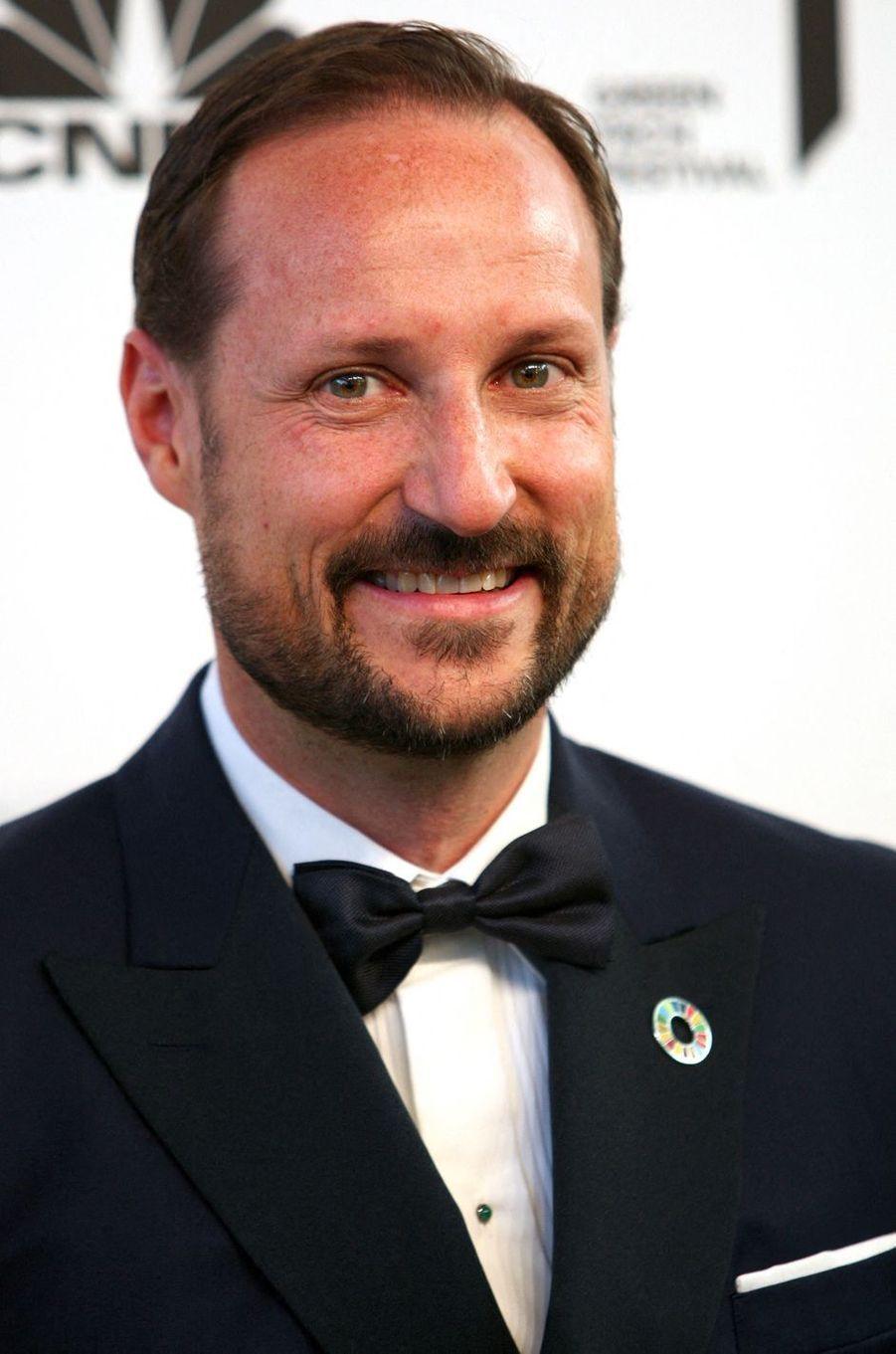 Le prince héritier Haakon de Norvège, le 25 mai 2019
