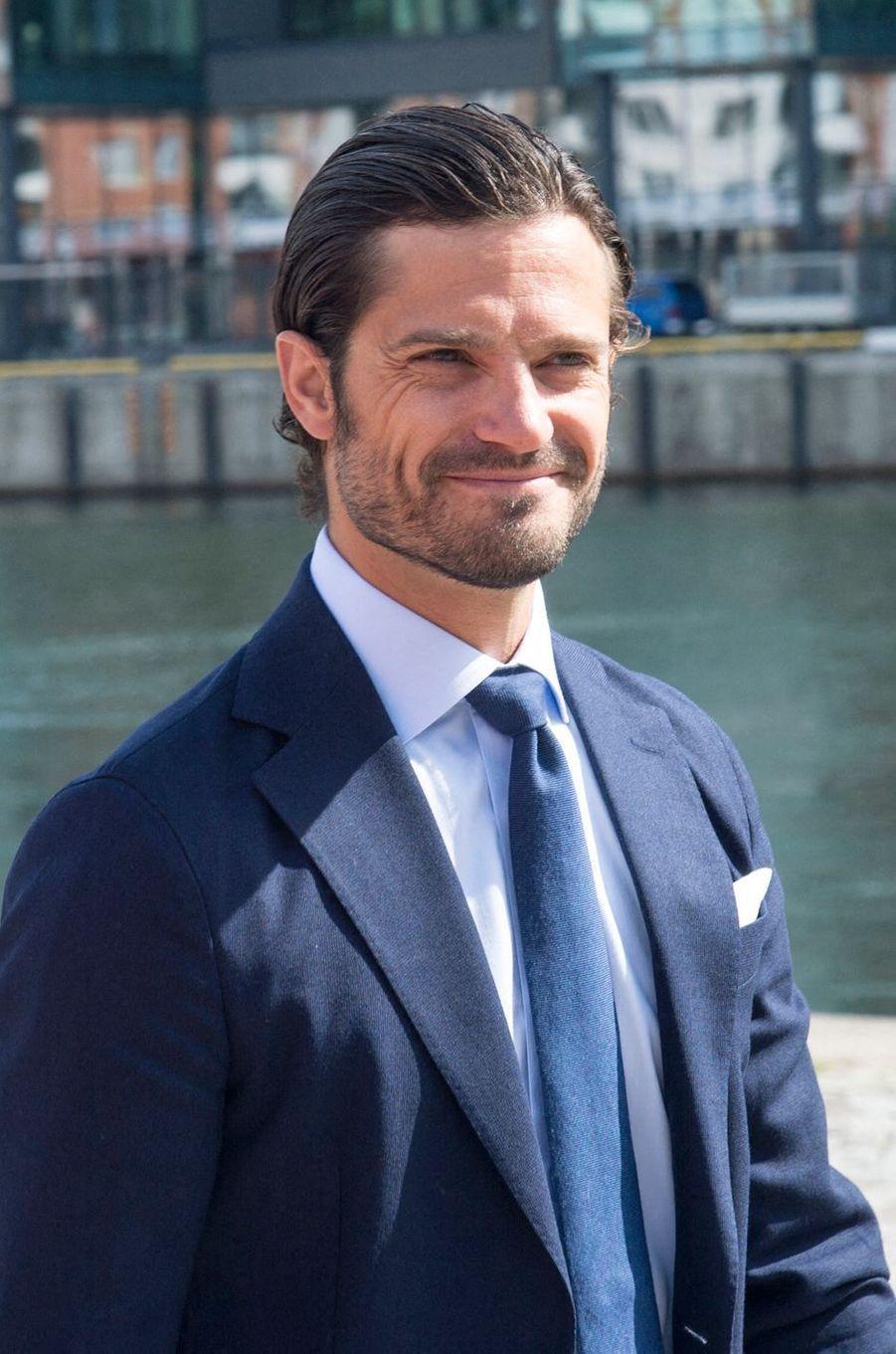 Le prince Carl Philip de Suède, le 14 août 2019