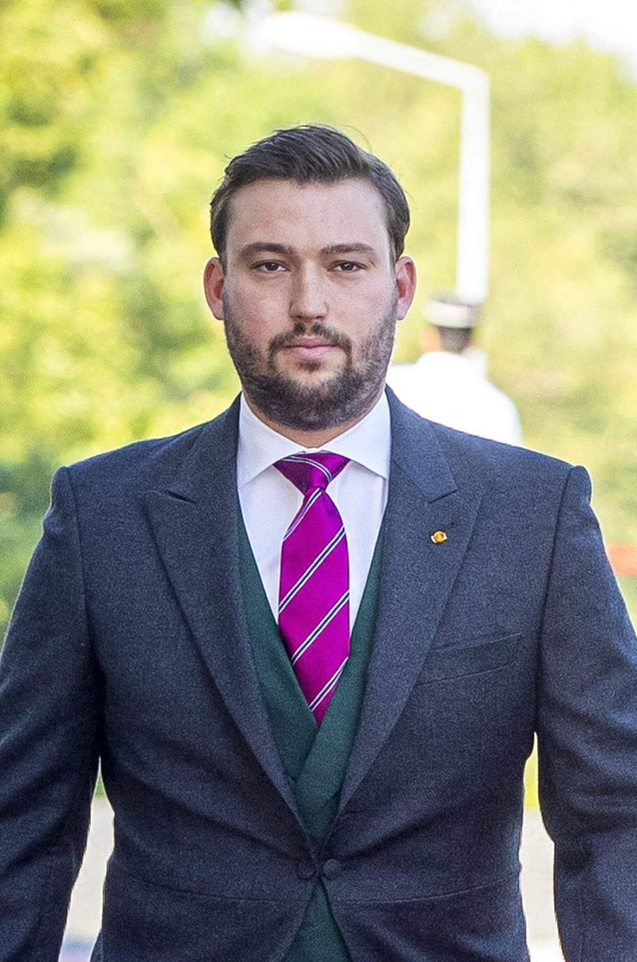 Le prince Sébastien de Luxembourg, le 23 juin 2019