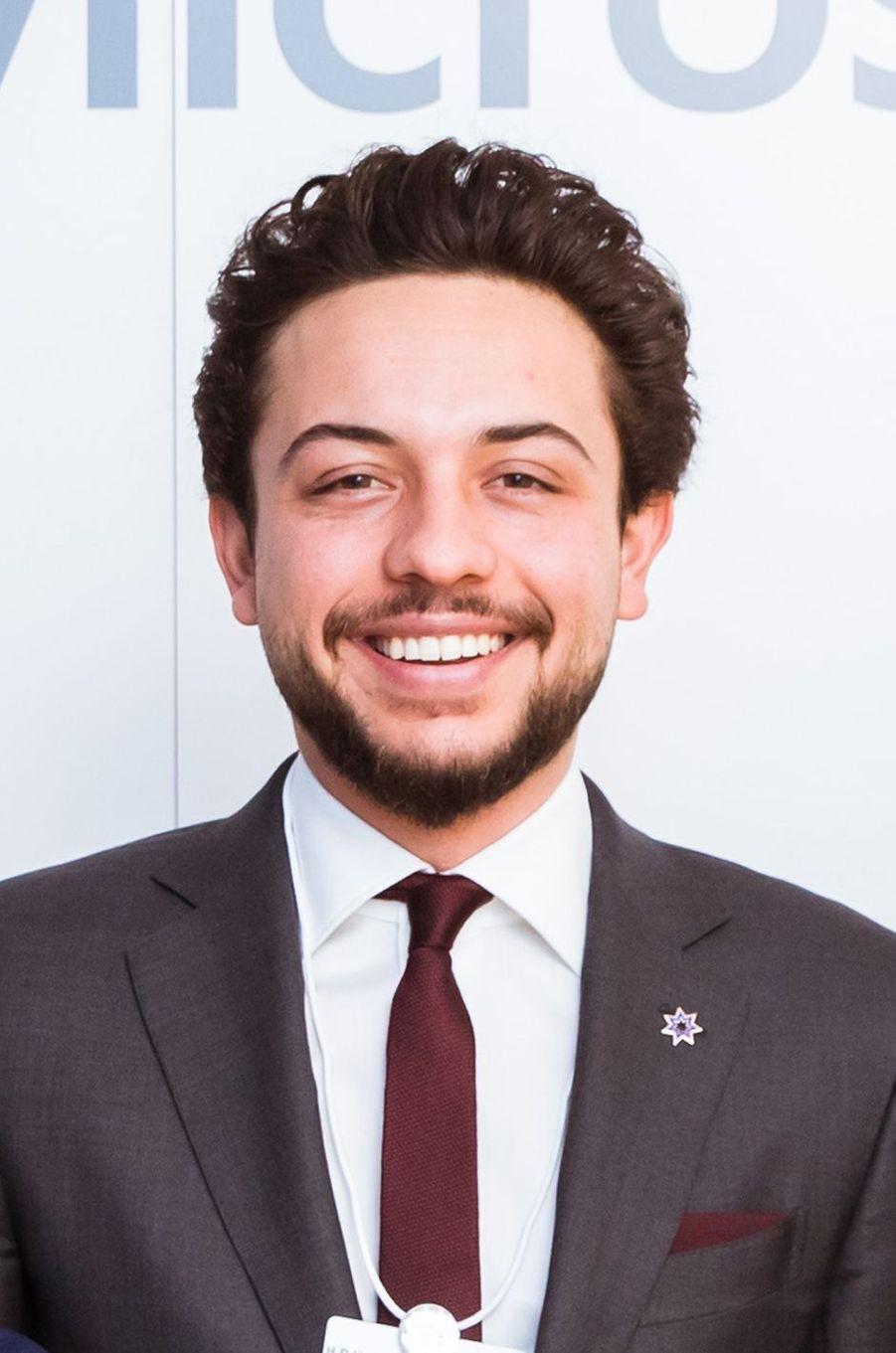 Le prince héritier Hussein de Jordanie, le 24 janvier 2019