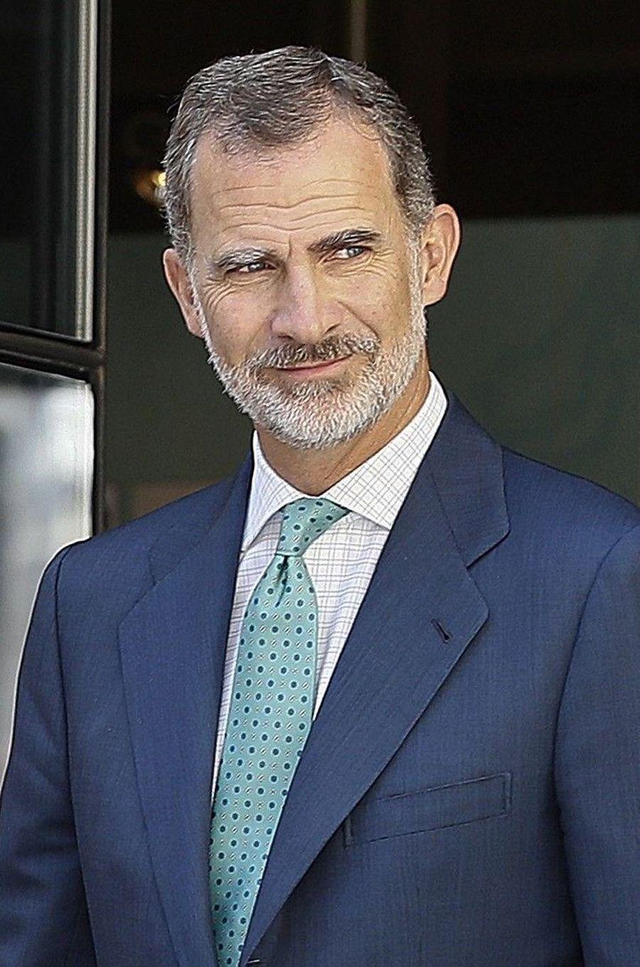 Le roi Felipe VI d'Espagne, le 12 septembre 2019
