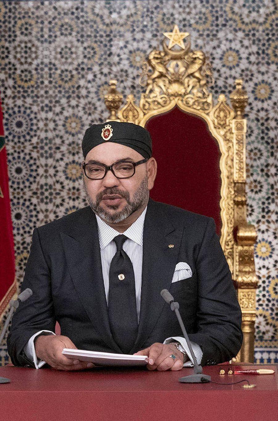 Le roi Mohammed VI du Maroc, le 29 juillet 2019