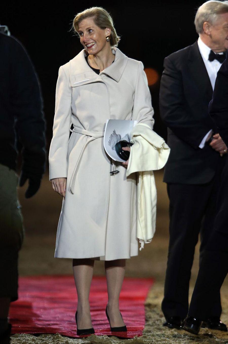 La comtesse Sophie de Wessex à Windsor, le 13 mai 2016