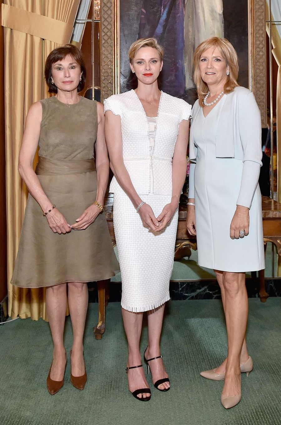 La princesse Charlène de Monaco à Los Angeles, le 12 mai 2016