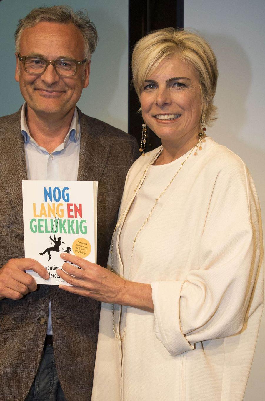 La princesse Laurentien des Pays-Bas à Amsterdam, le 11 mai 2016