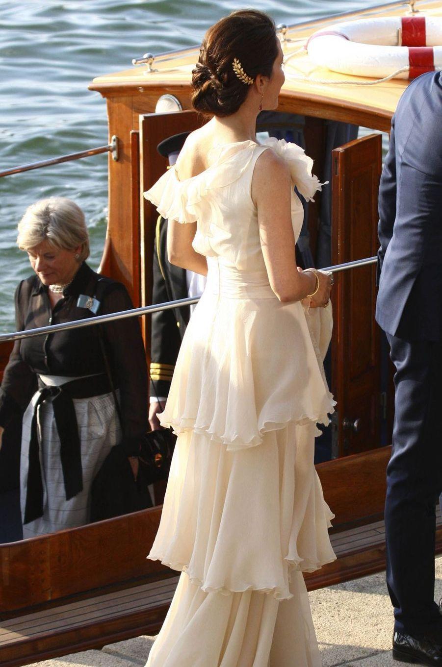 La princesse Mary de Danemark à Copenhague, le 13 mai 2016