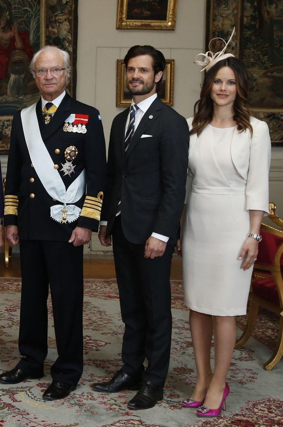 La princesse Sofia de Suède à Stockholm, le 10 mai 2016