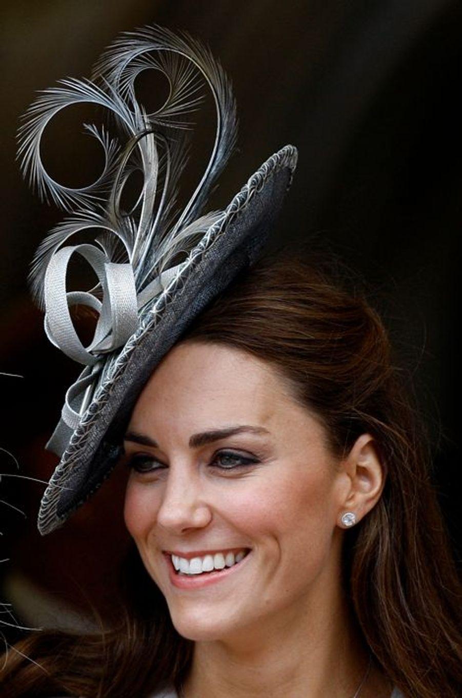 La duchesse de Cambridge Kate, le 13 juin 2011