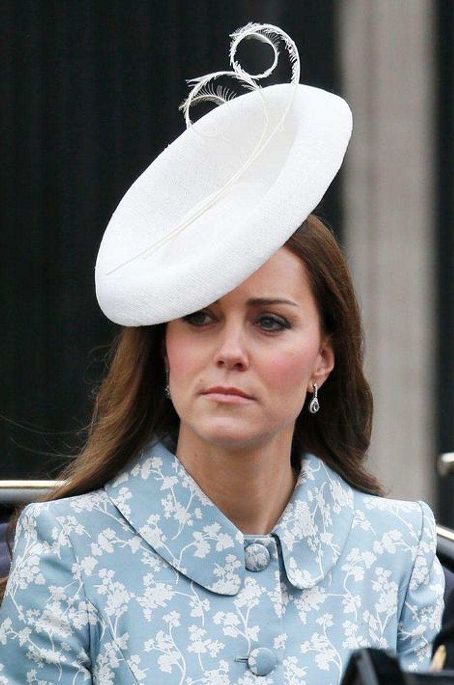 La duchesse de Cambridge Kate, le 13 juin 2015