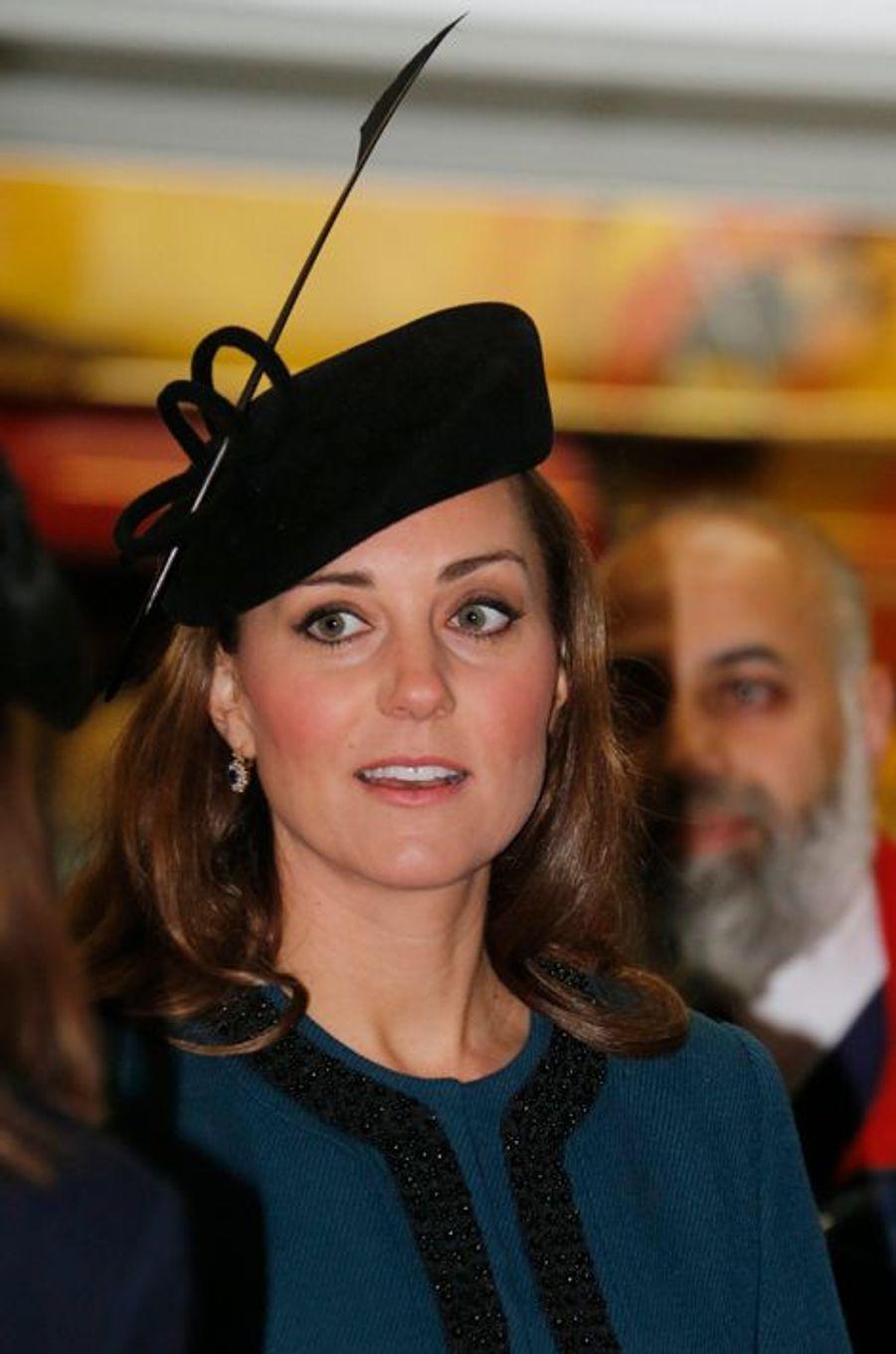 La duchesse de Cambridge Kate, le 20 mars 2013