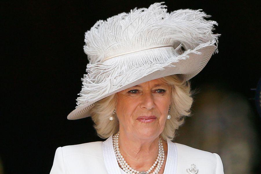 La duchesse de Cornouailles Camilla, le 18 juin 2015