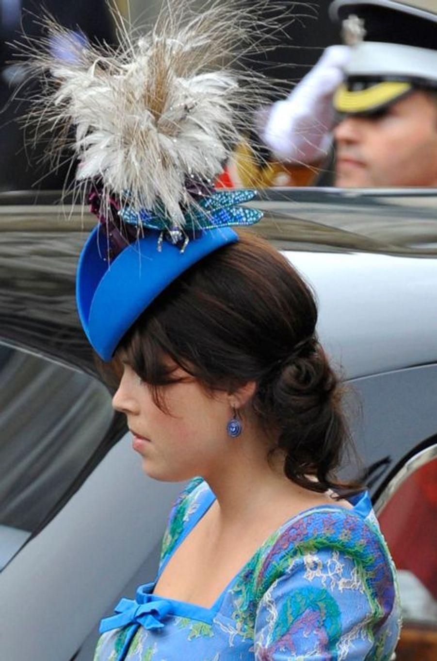 La princesse Beatrice d'York, le 29 avril 2011