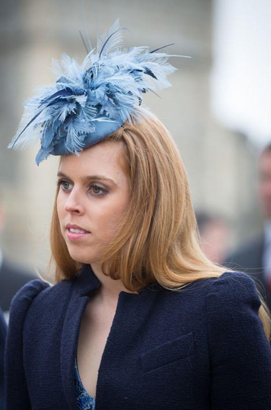 La princesse Beatrice d'York, le 5 avril 2015