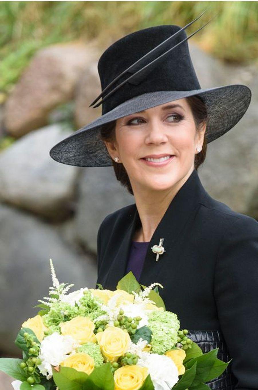 La princesse Mary de Danemark, le 25 avril 2015