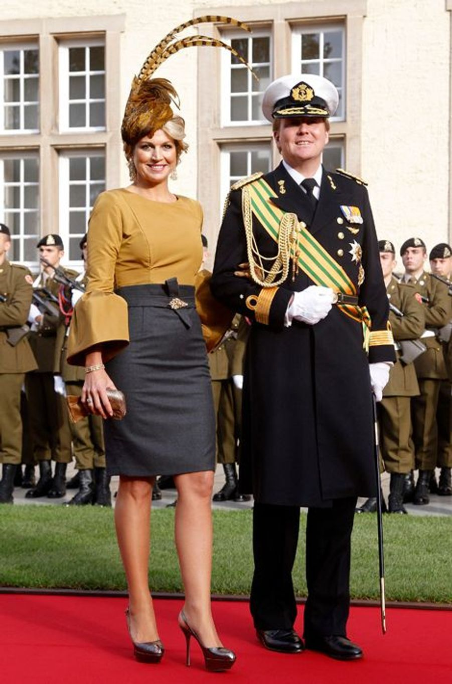 La princesse Maxima des Pays-Bas, le 20 octobre 2012