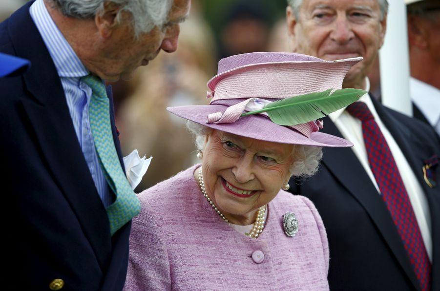 La reine Elizabeth II, le 14 juin 2015