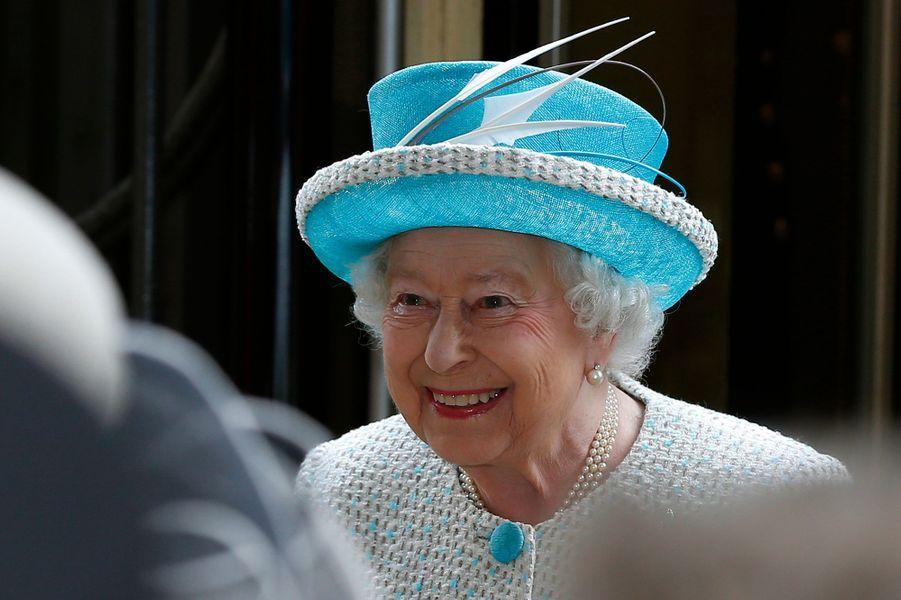 La reine Elizabeth II, le 29 mai 2015