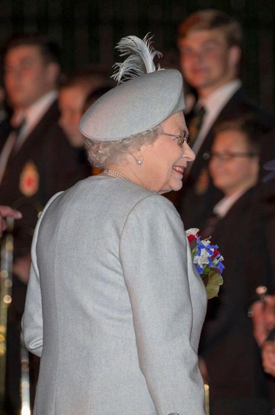 La reine Elizabeth II, le 8 mai 2015