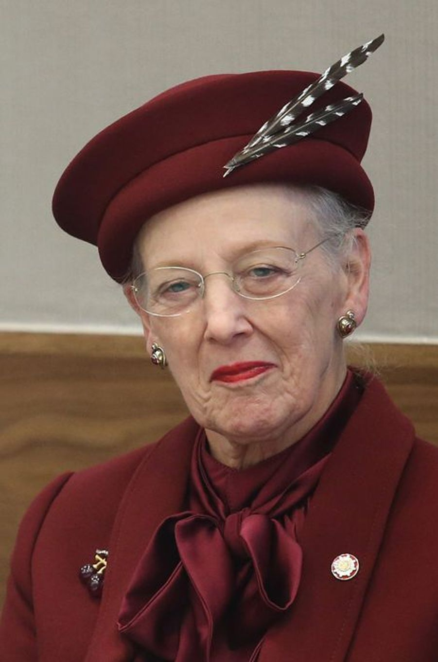La reine Margrethe II de Danemark, le 22 octobre 2014