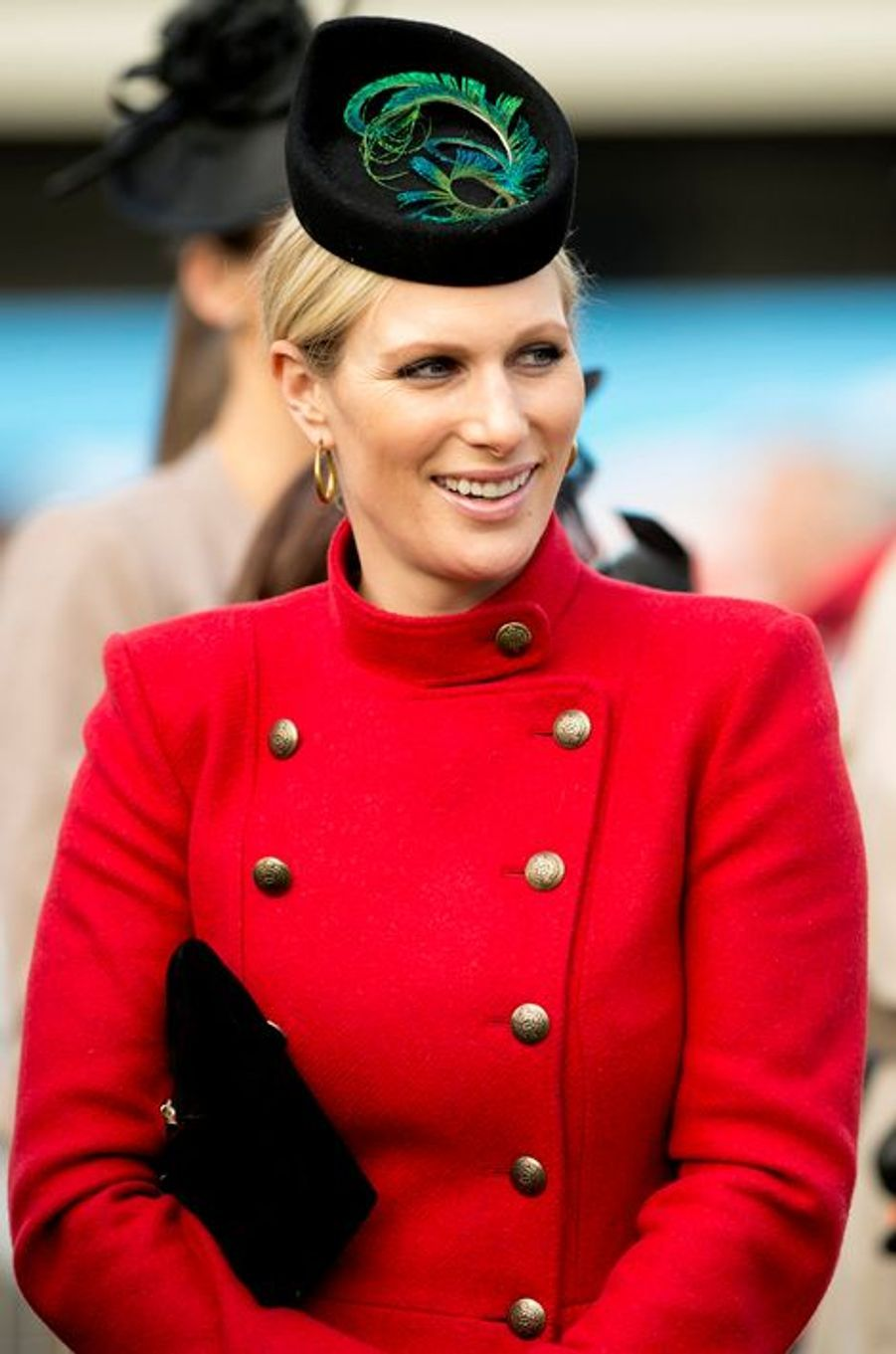 Zara Phillips, le 13 mars 2013