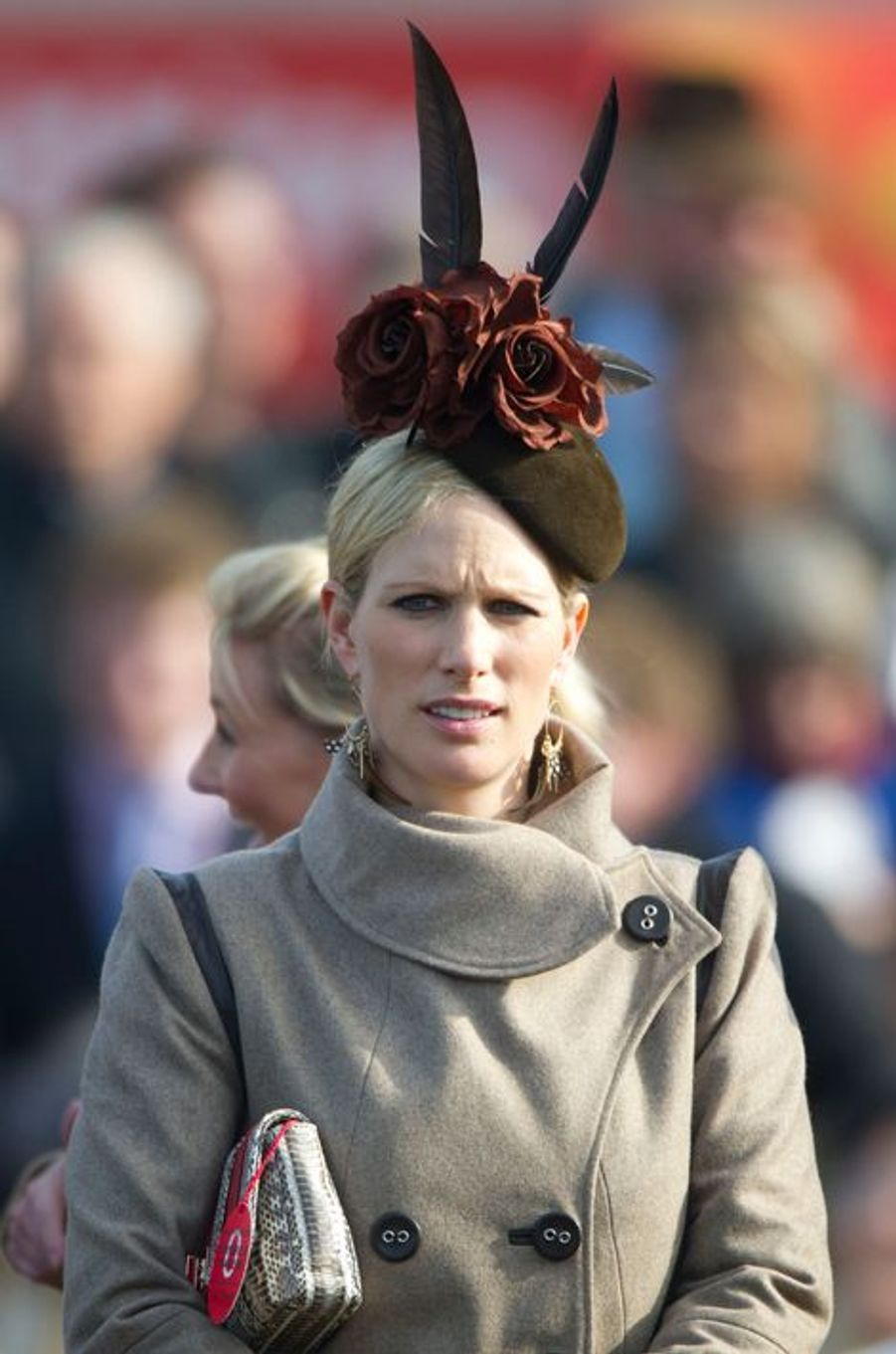 Zara Phillips, le 15 mars 2012