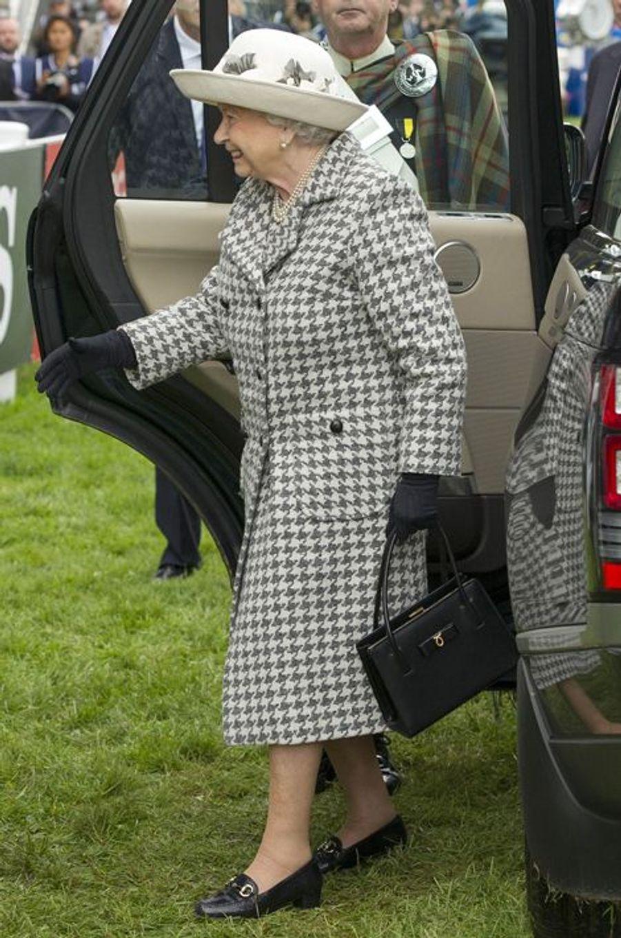 La reine Elizabeth II, le 13 septembre 2015