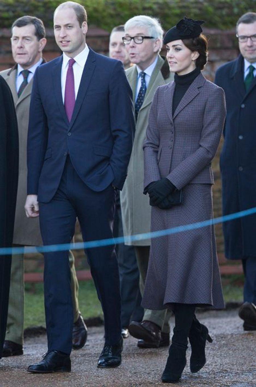 La duchesse Catherine de Cambridge, le 10 janvier 2016