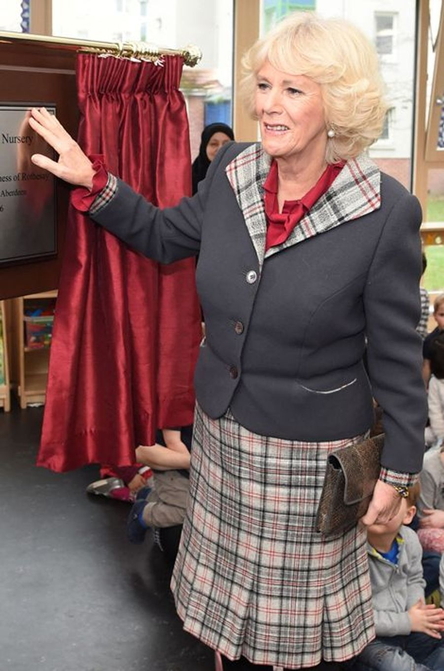 La duchesse de Cornouailles Camilla, le 21 janvier 2016