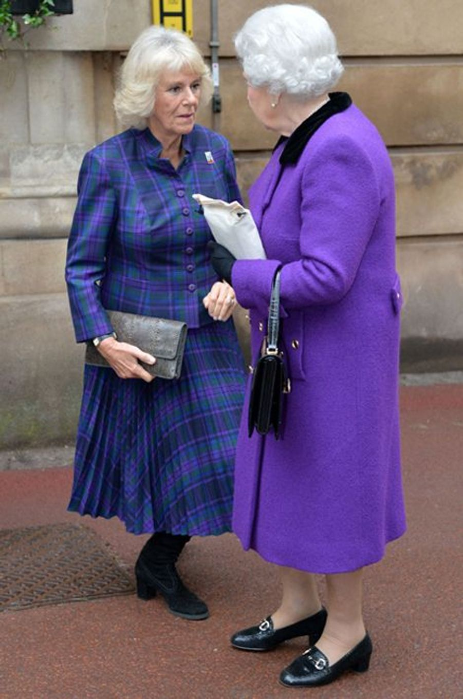 La duchesse de Cornouailles Camilla, le 21 octobre 2015