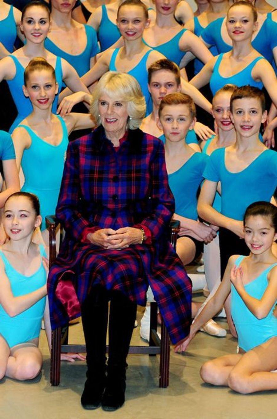 La duchesse de Cornouailles Camilla, le 25 novembre 2014