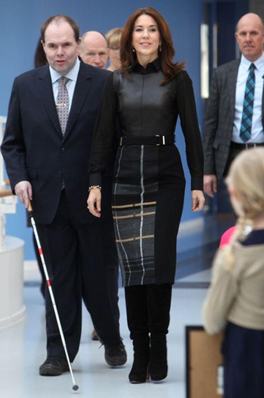 La princesse Mary de Danemark, le 26 février 2015