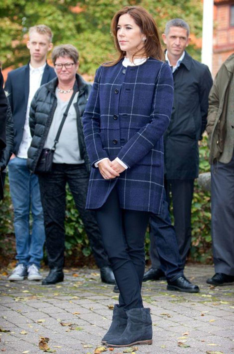 La princesse Mary de Danemark, le 6 octobre 2014