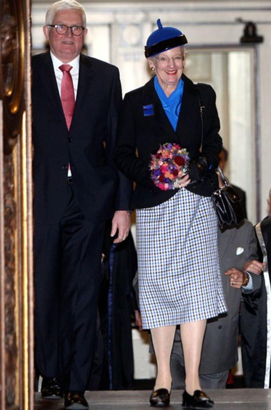 La reine Margrethe II de Danemark, le 20 novembre 2015