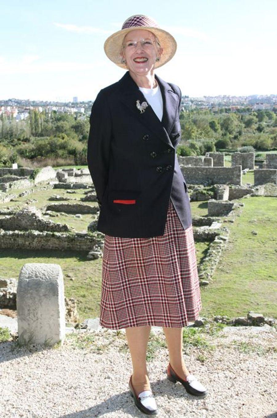 La reine Margrethe II de Danemark, le 24 octobre 2014