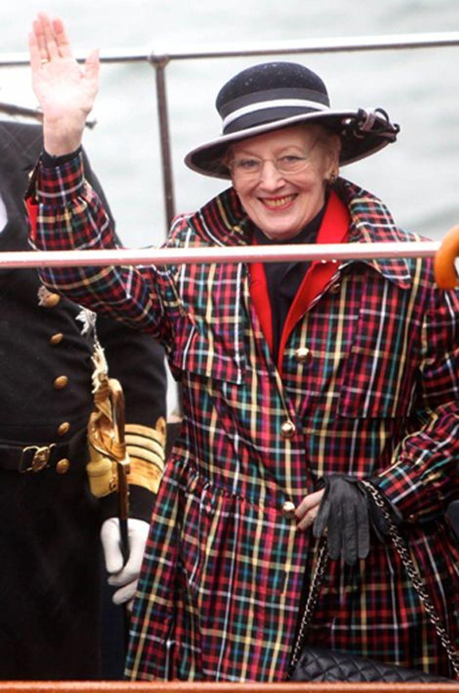 La reine Margrethe II de Danemark, le 5 mai 2015