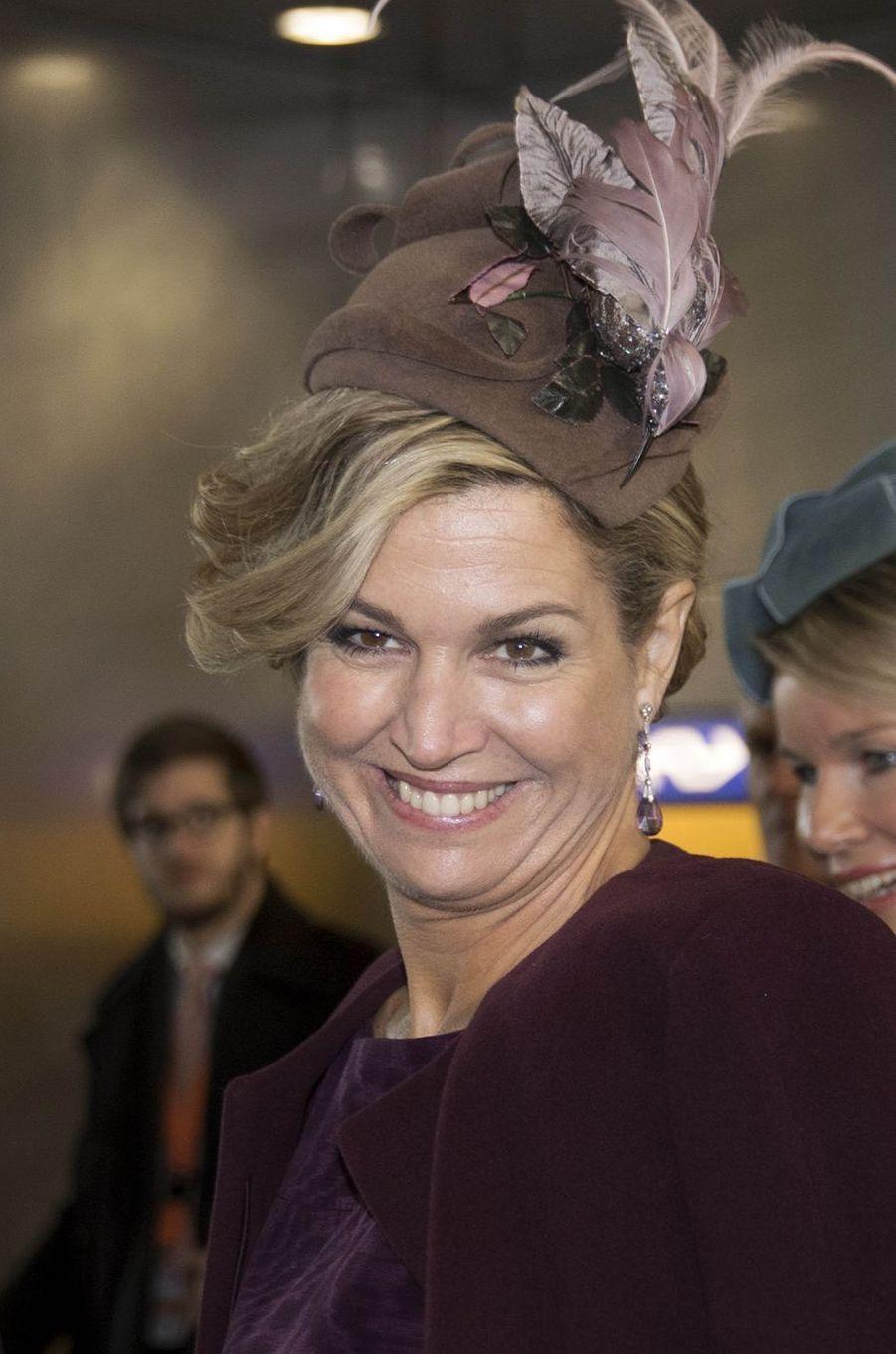 La reine Maxima des Pays-Bas à Utrecht, le 30 novembre 2016