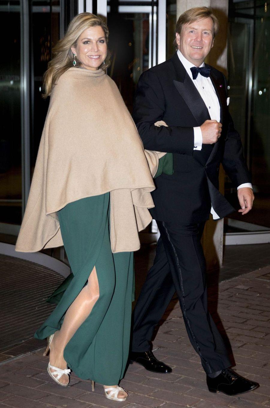 La reine Maxima des Pays-Bas à Amsterdam, le 29 novembre 2016