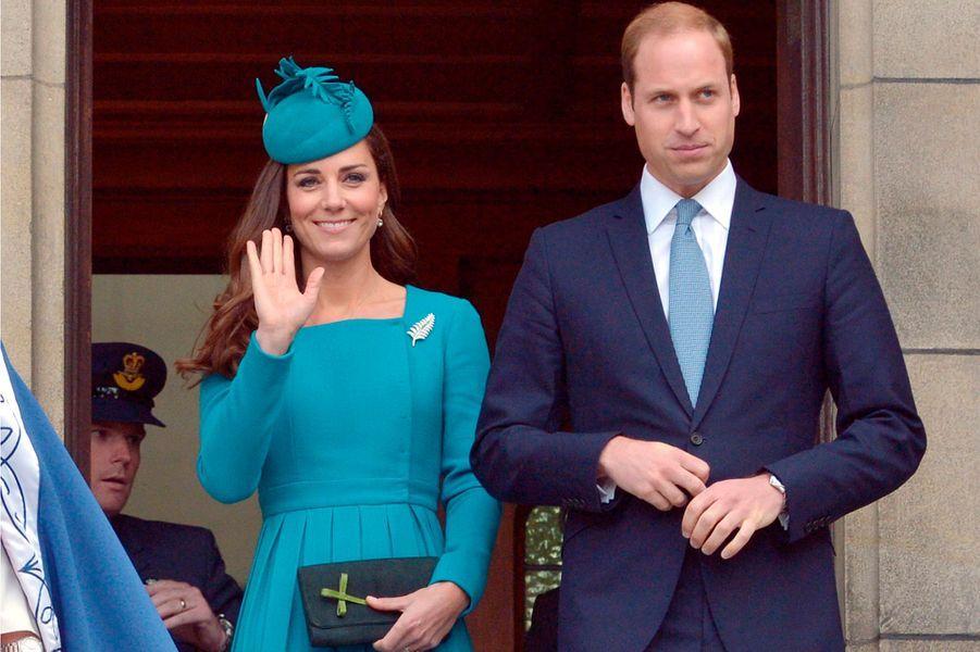 La duchesse Catherine de Cambridge, le 13 avril 2014