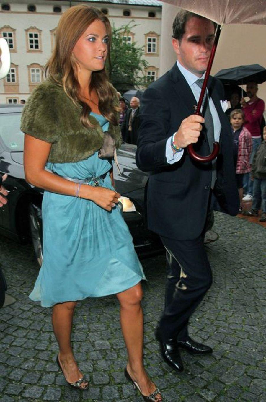 La princesse Madeleine de Suède, le 7 août 2011