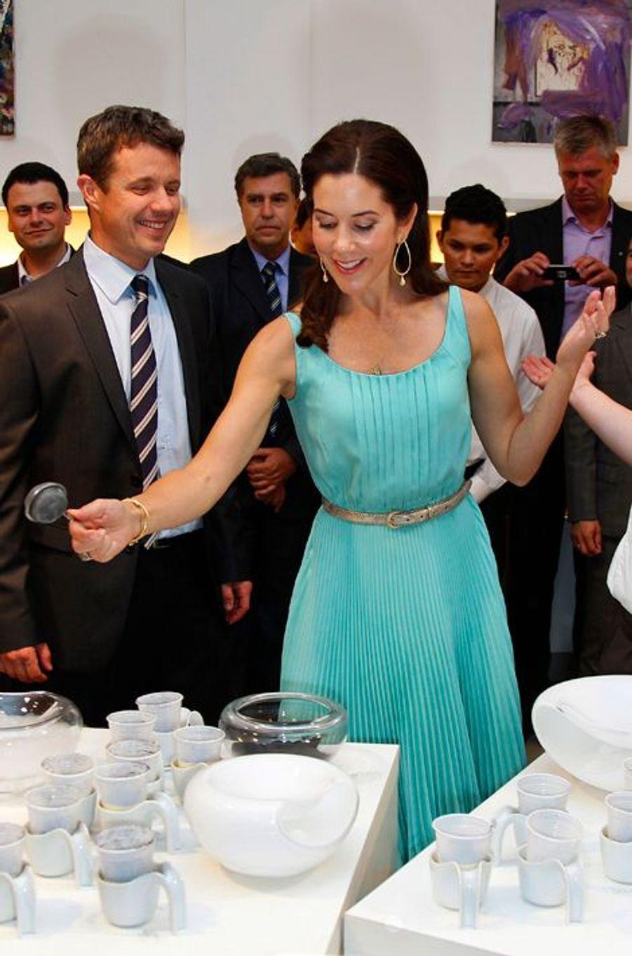 La princesse Mary de Danemark, le 16 septembre 2012