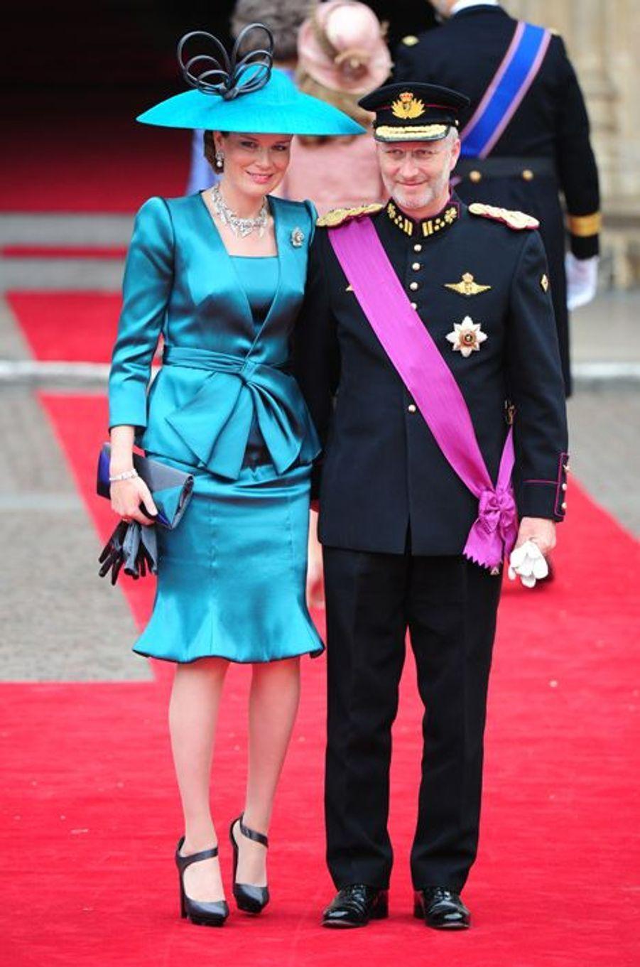 La princesse Mathilde de Belgique, le 29 avril 2011