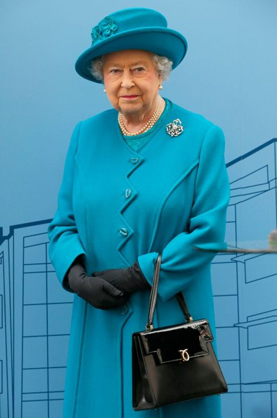 La reine Elizabeth II, le 15 octobre 2015