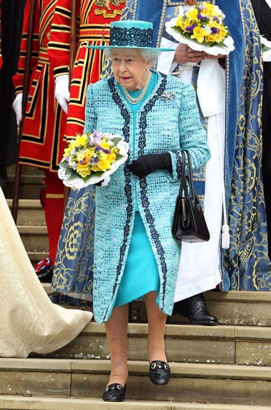 La reine Elizabeth II, le 24 mars 2016