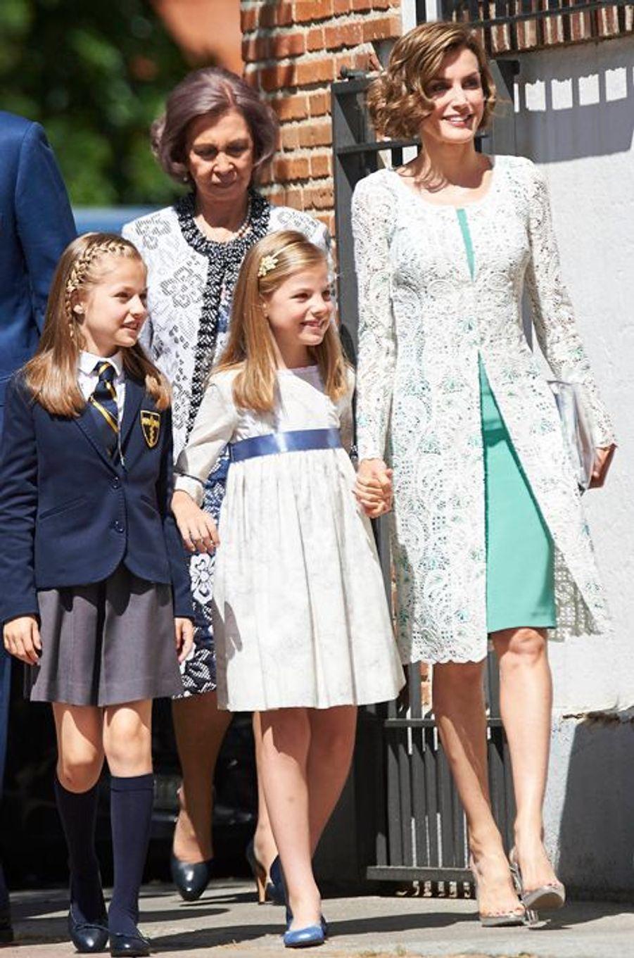 La reine Letizia d'Espagne, le 20 mai 2015