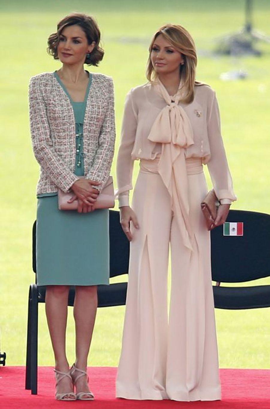 La reine Letizia d'Espagne, le 29 juin 2015