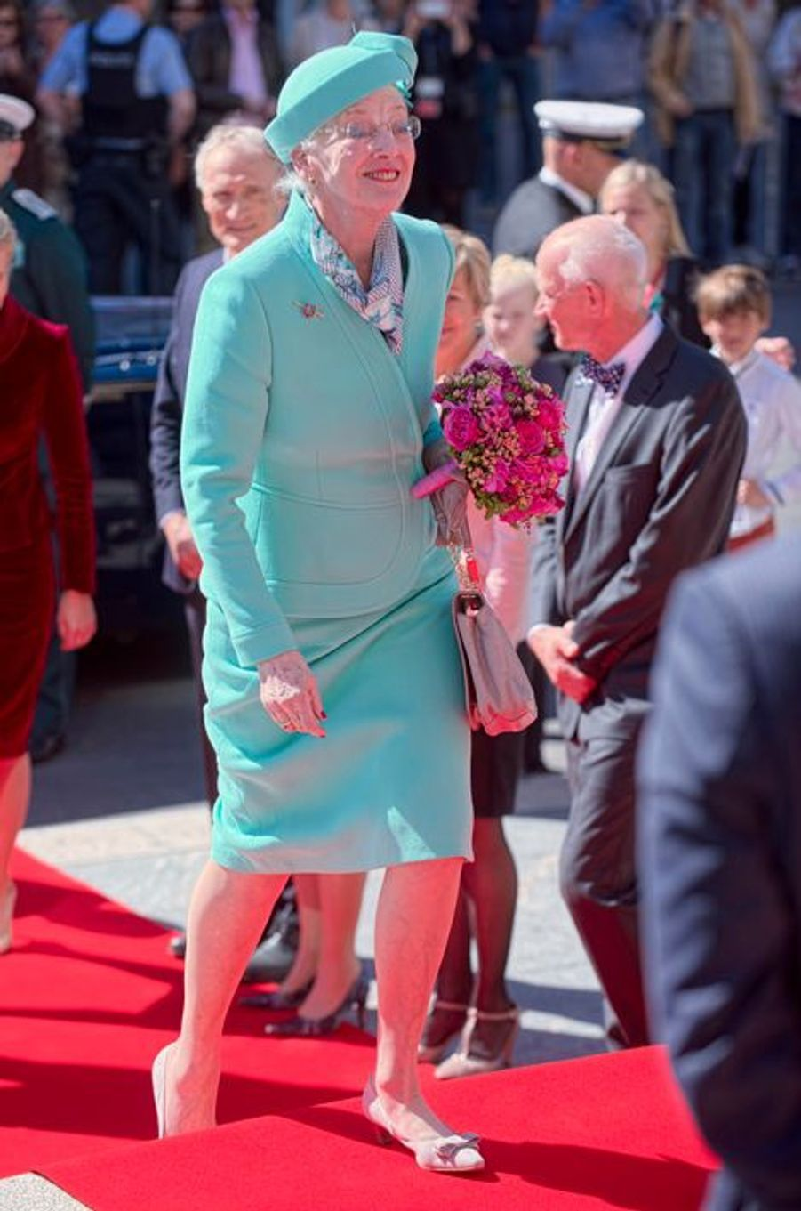 La reine Margrethe II de Danemark, le 5 juin 2015