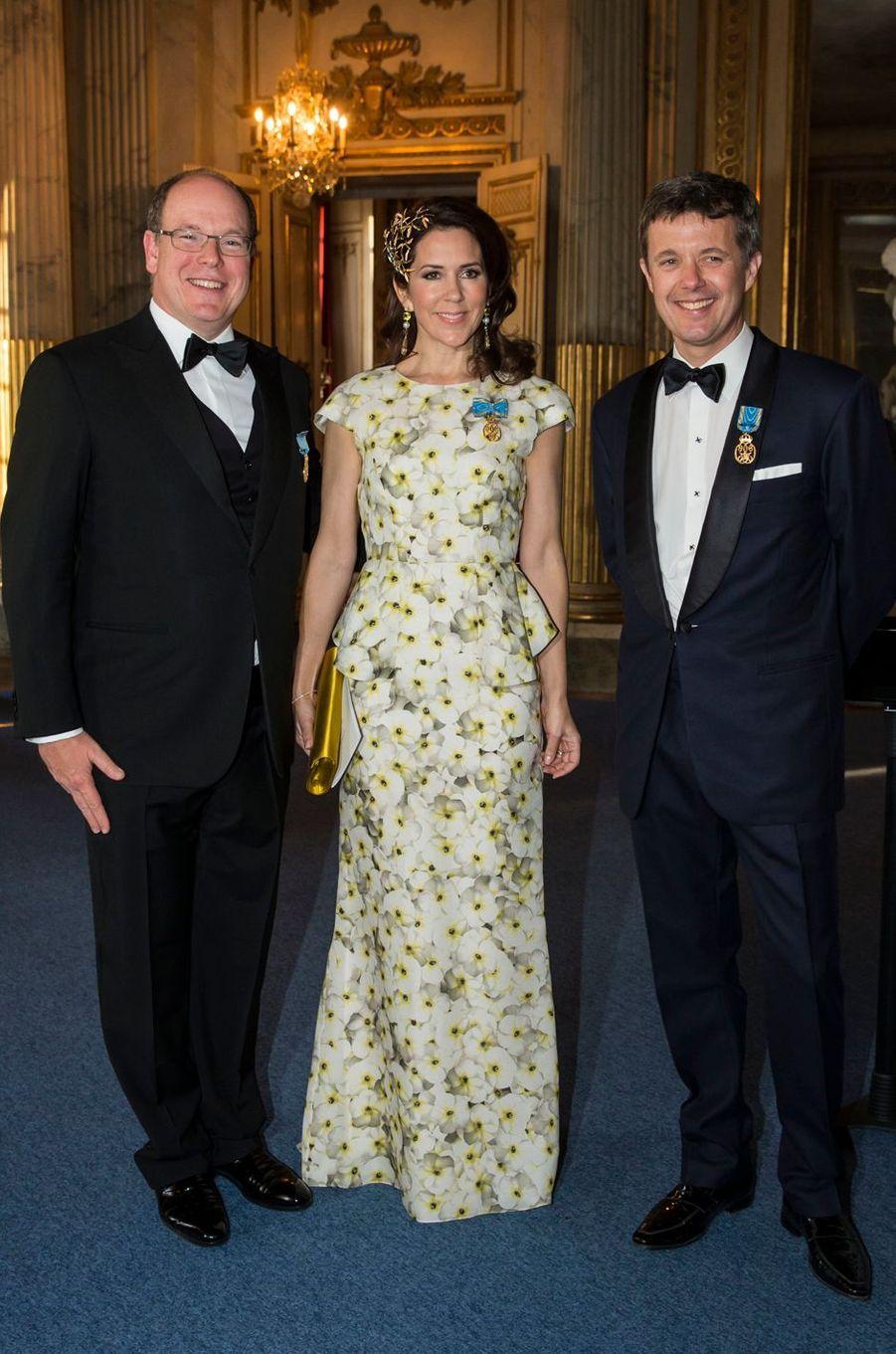 La princesse Mary de Danemark en Yde, le 30 avril 2016
